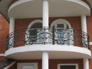 Кованые балконы фото №99