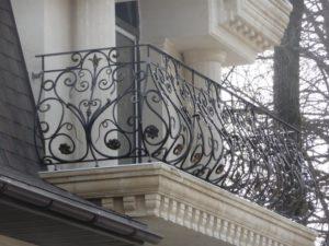 Кованые балконы фото №100