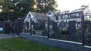 Кованые ворота фото №127