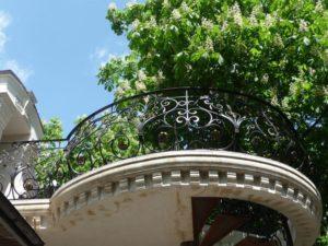 Кованые балконы фото №101