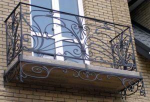 Кованые балконы фото №103