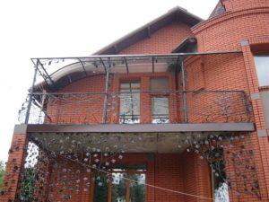 Кованые балконы фото №106