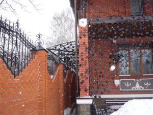 Кованые балконы фото №107
