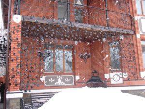 Кованые балконы фото №96