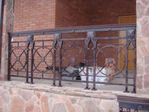 Кованые балконы фото №109