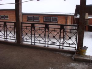 Кованые балконы фото №110