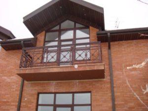 Кованые балконы фото №111