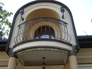 Кованые балконы фото №114