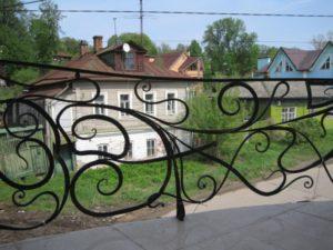 Кованые балконы фото №117