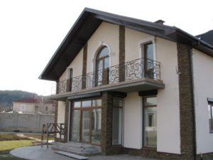 Кованые балконы фото №118