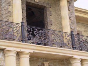 Кованые балконы фото №108