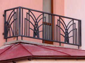 Кованые балконы фото №121