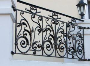 Кованые балконы фото №123