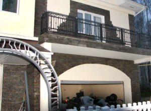 Кованые балконы фото №125