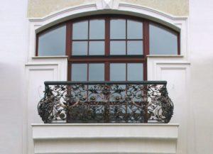 Кованые балконы фото №126