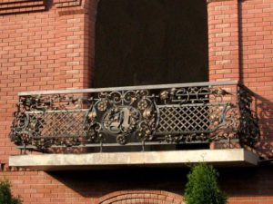 Кованые балконы фото №128
