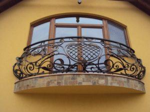 Кованые балконы фото №129