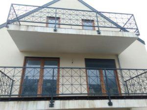 Кованые балконы фото №120