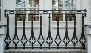 Кованые балконы фото №127