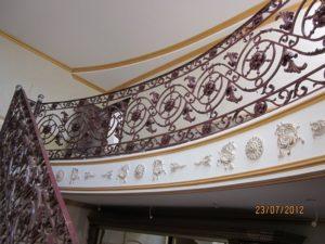 Кованые перила фото №42