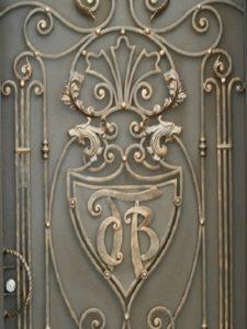 Кованые ворота фото №10