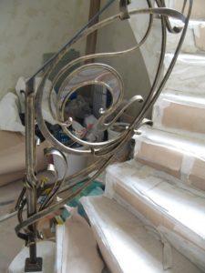 Кованые перила фото №83