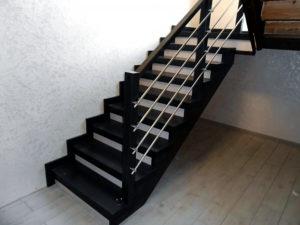 Деревянные лестницы, фото №1