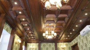 Кессонный потолок фото №1