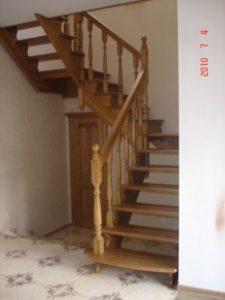 Лестницы из дуба, фото №1