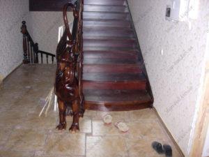 Деревянная лестница г. Херсон №1