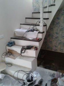 Облицовка лестниц деревом, фото №2