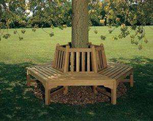Скамейка вокруг дерева №1