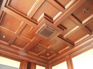 Кессонный потолок фото №10