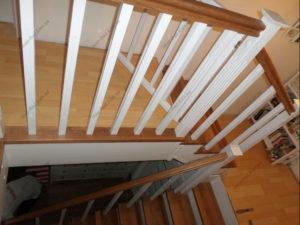 Лестница в стиле прованс фото №12