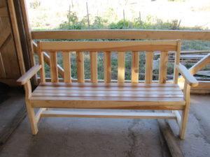 Деревянные скамейки, фото №10