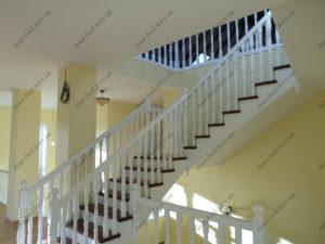 Деревянная лестница г. Днепропетровск №11