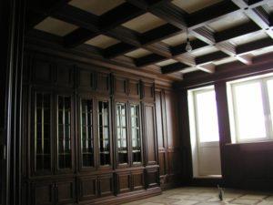 Кессонный потолок фото №11
