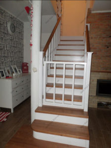 Лестница в стиле прованс фото №2