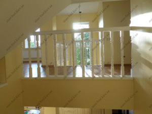 Деревянная лестница г. Днепропетровск №12
