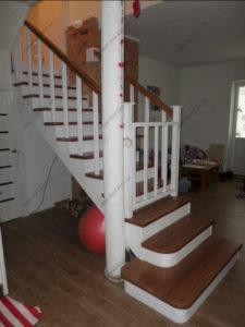 Лестница в стиле прованс фото №3