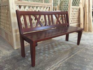 Деревянные скамейки, фото №12