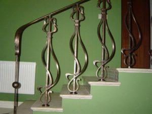 Кованые балясины для лестниц №17