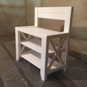 Деревянные скамейки фото №16