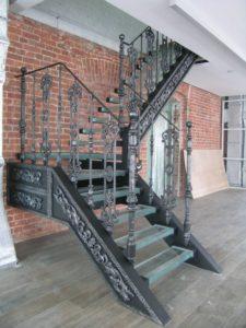 Кованые балясины для лестниц №12