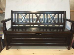 Деревянные скамейки фото №14