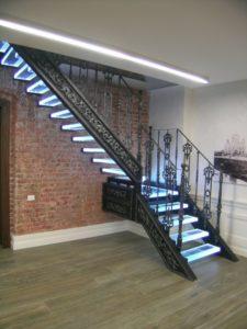 Кованые балясины для лестниц №14