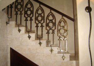 Кованые балясины для лестниц №19