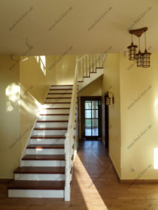 Облицовка лестниц деревом, фото №5