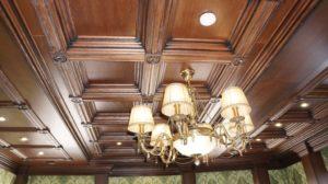 Кессонный потолок фото №2