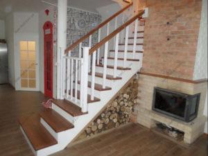 Лестница в стиле прованс фото №5